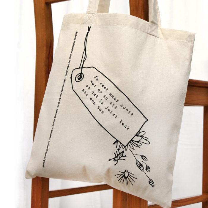 philadelphia totebag hanging from a chair